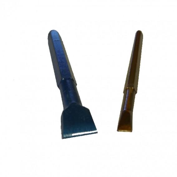 Ciseaux à graver lario bleus pour granit dur en 4