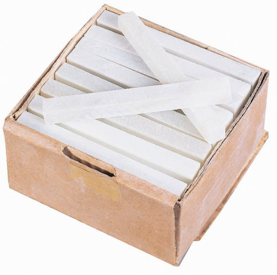 Craie de Briançon blanche x 50 100 x 10 x 10 mm