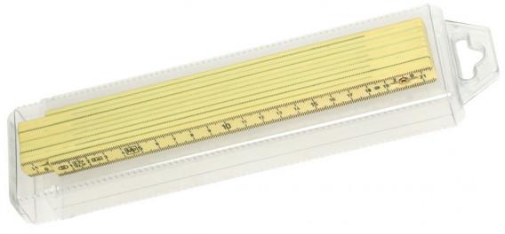 Double mètre bois pliant 2 m
