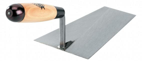 Truelle carrée acier laminé «RUSTICA» 18cm