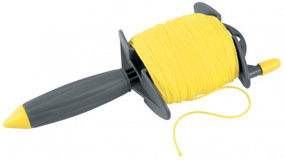 Enrouleur de corde à poignée ø 1,5mm x 100 m
