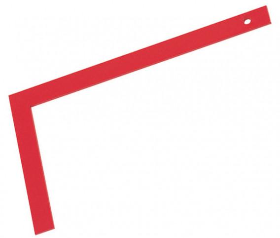 Equerre de maçon tout acier 50 x 25 cm