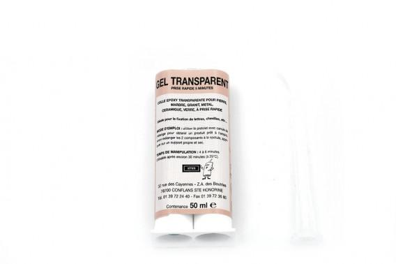 Colle epoxy translucide