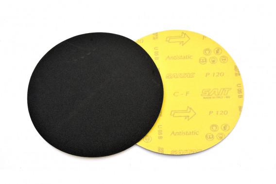 Disque abrasif velcro qualité sait Ø150 gr.120