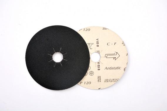 Disque papier abrasif Ø140 gr.320 étoilé
