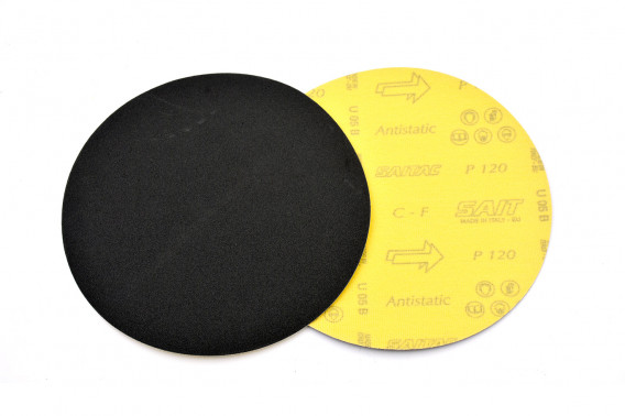 Disque abrasif velcro qualité sait Ø115 gr.80
