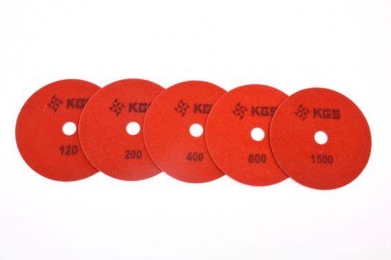 Kit de 6 disques sda abrasifs Ø115mm