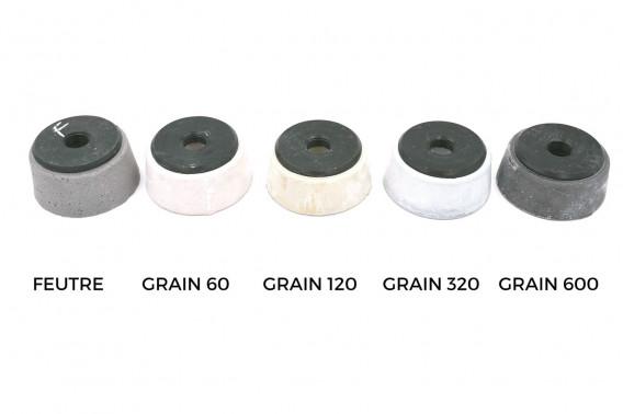 Meule magnésie Ø100mm grain 320 M24