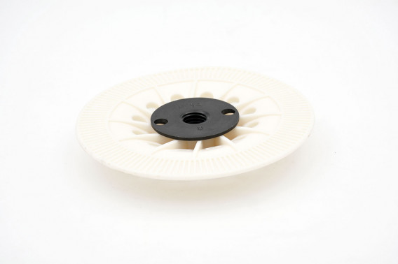 Plateau support papier abrasif non velcro Ø180mm