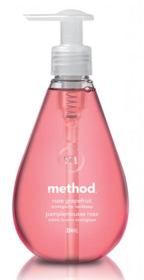 Crème lavante pamplemousse rose