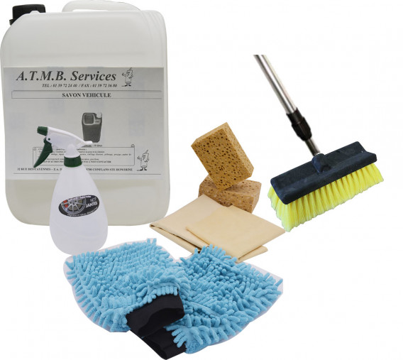Kit nettoyage véhicule à eau